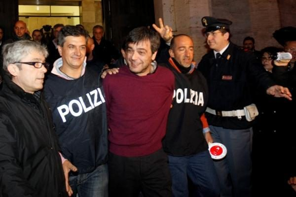 Italijoje suimtas vienas iš mafijos vadeivų