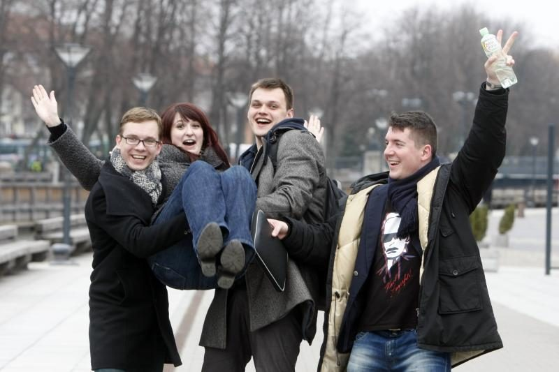 KUSS studentai išsirinko      prezidentę