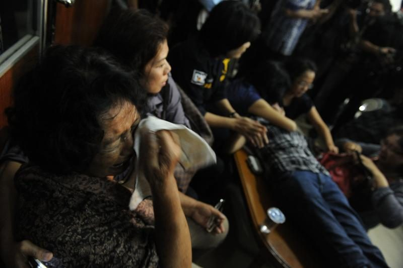 Indonezijoje nukritusiame Rusijos lėktuve buvo 45 žmonės