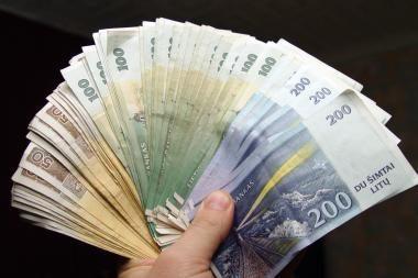 Atlyginimo padidėjimo kitąmet tikisi maždaug penktadalis lietuvių