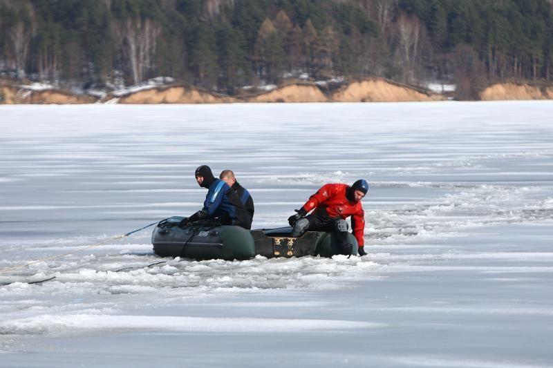 Kauno mariose skendusio žvejo išgelbėti nepavyko