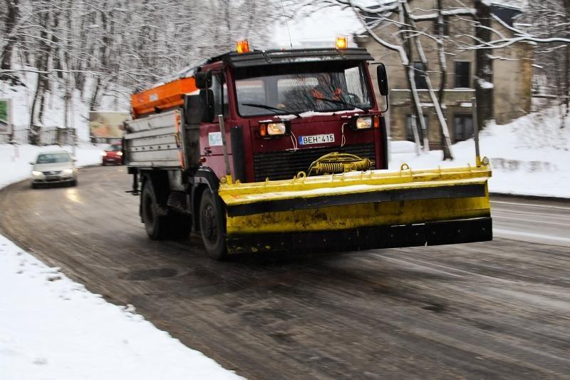 """""""Kauno švara"""": miesto gatvės nuvalytos puikiai"""
