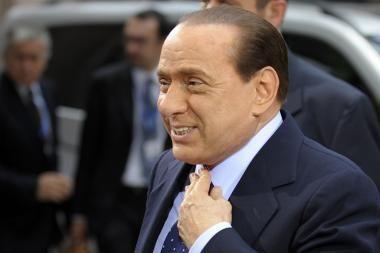S.Berlusconi laimėjo balsavimą parlamente dėl pasitikėjimo jo vyriausybe