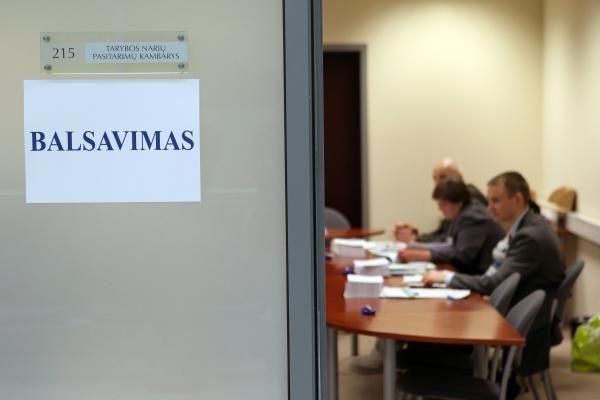 Nori užtikrinti galimybę balsuoti tik Seimo rinkimuose