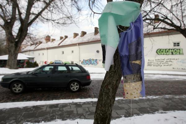Nuniokotas būsimasis Tibeto skveras Vilniuje