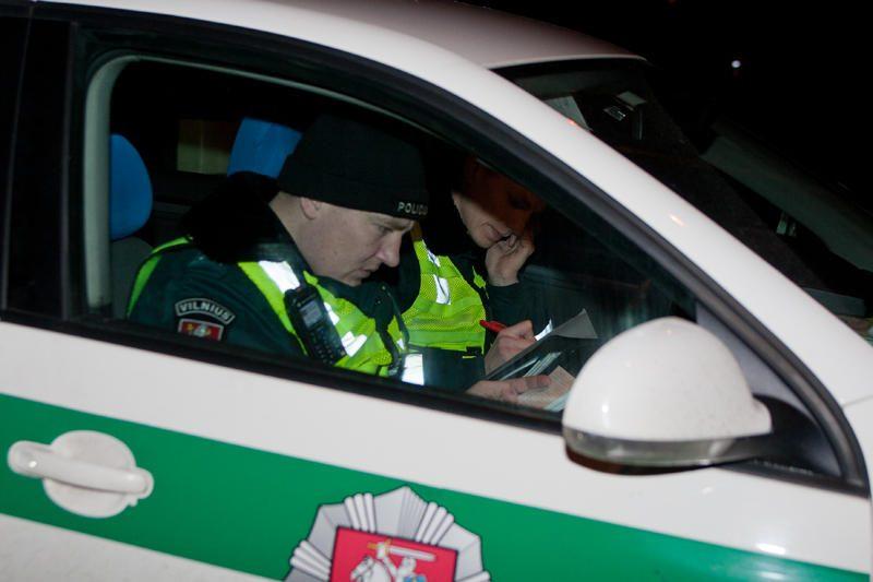 Policija vienam vakarui sustiprins patruliavimą viešajame transporte
