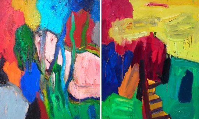 Vilniečio R.Martinėno tapybos spalvų gūsis – Klaipėdoje