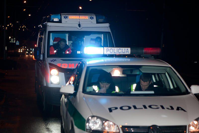 Per kraupią avariją Vilniuje sužalotas vyras neteko kojos