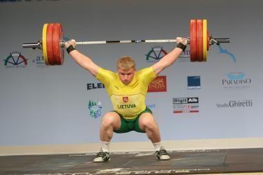 A.Didžbalis - Europos jaunimo sunkiosios atletikos čempionas!