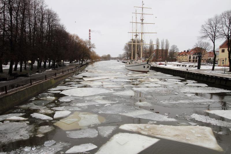 Lietuvos  upėse  smarkiai kyla vanduo