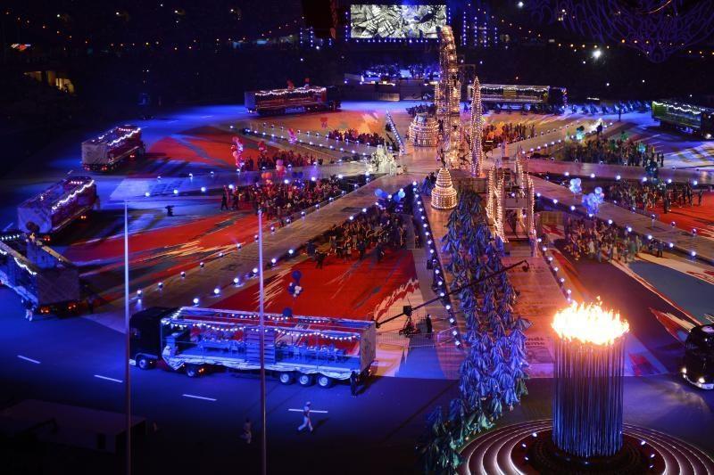Londone oficialiai uždarytos olimpinės žaidynės