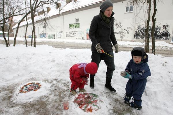 Agituojant už Tibeto skverą, Vilniuje surengtas specialus minėjimas