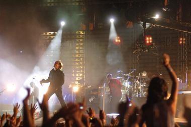 """""""U2 3D"""": kino salėje - lyg daugiatūkstantiniame koncerte"""