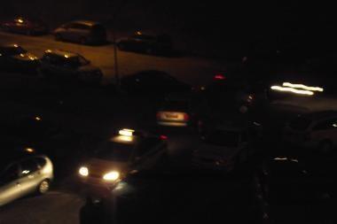 Lifto ričių vagių ieškojo keturi policijos ekipažai