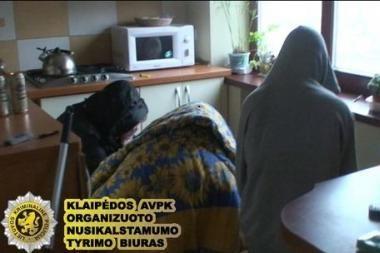 Klaipėdoje nubaustos prostitutės ir jų klientas