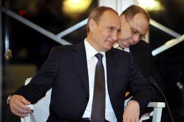 V.Putinas: sprendimas dėl 2012 metų prezidento rinkimų bus suderintas su D.Medvedevu