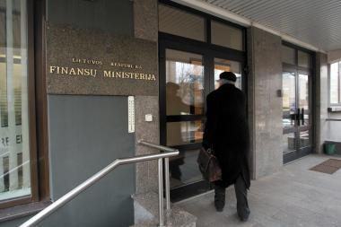 Dėl lypkiškių milijono – į Finansų ministeriją