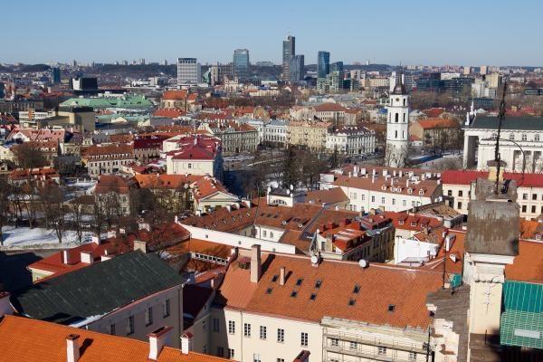 Vilniaus įvaizdis internete: fotografuoti skirtas senamiestis
