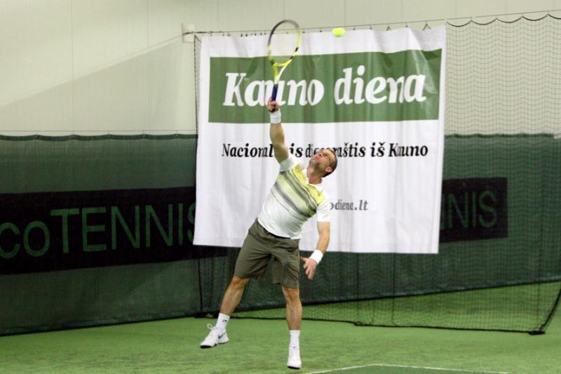"""Prasidėjusiame """"Kauno dienos"""" turnyre – rekordinis teniso mėgėjų būrys"""