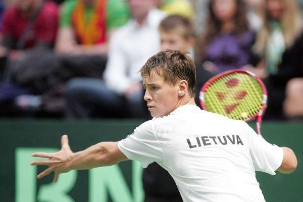 ATP reitinge Ričardas Berankis prarado dvi pozicijas