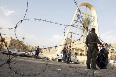 Irako sostinėje per įkaitų dramą bažnyčioje žuvo 52 žmonės, tarp jų du kunigai