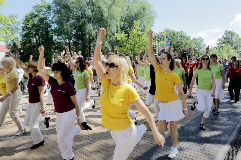 Sveikatos ir sporto šventė vilios masinėmis treniruotėmis (programa)