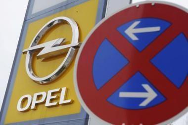 """""""Opel"""" sandorio pasirašymas nukeltas"""