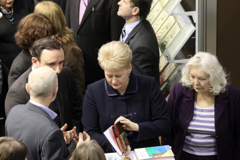 Prezidentė ir kultūros ministras atidarė 13-ąją Knygų mugę