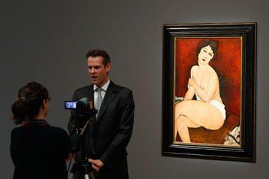 A.Modigliani paveikslas parduotas aukcione už 69 mln. dolerių