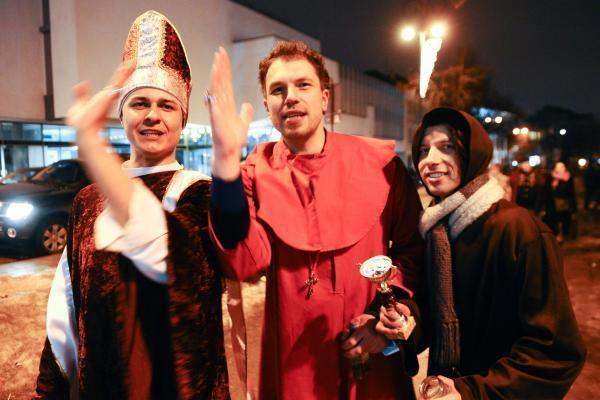 Vilniaus Katedros aikštėje – šampano taurės ir fejerverkai