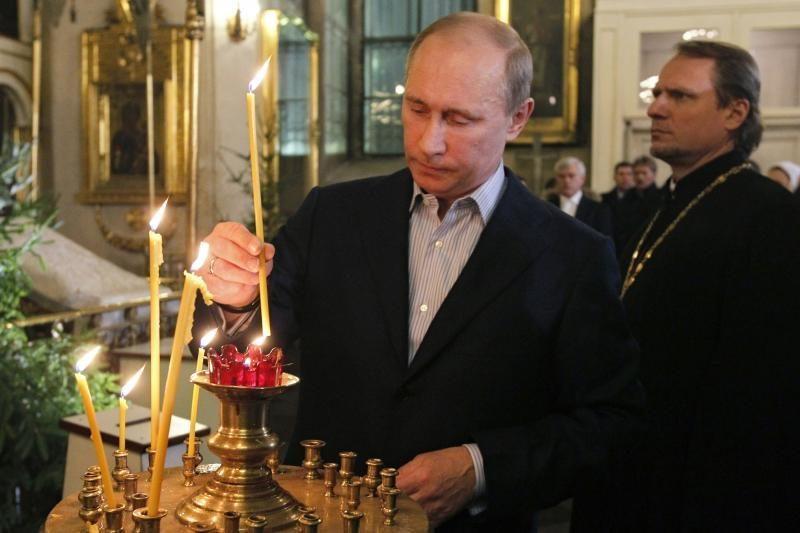 Putinas prisipažino esąs slapta krikštytas sovietmečiu