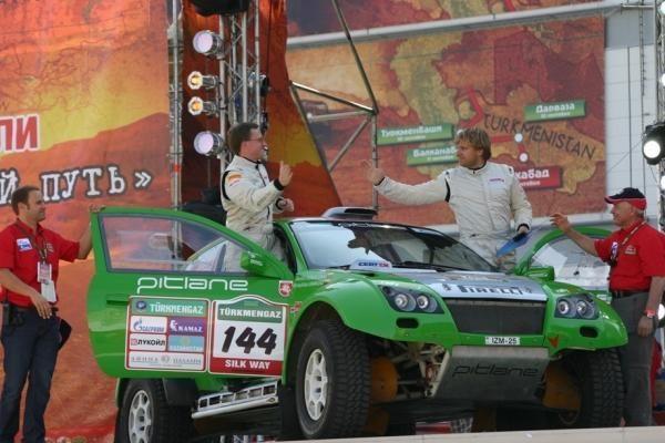 """Dakaro serijos varžybos """"Šilko kelias"""" kuria naujas tradicijas"""