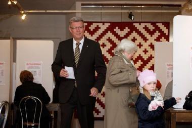 Rinkimai Latvijoje vyksta ramiai (papildyta 15:50val.)