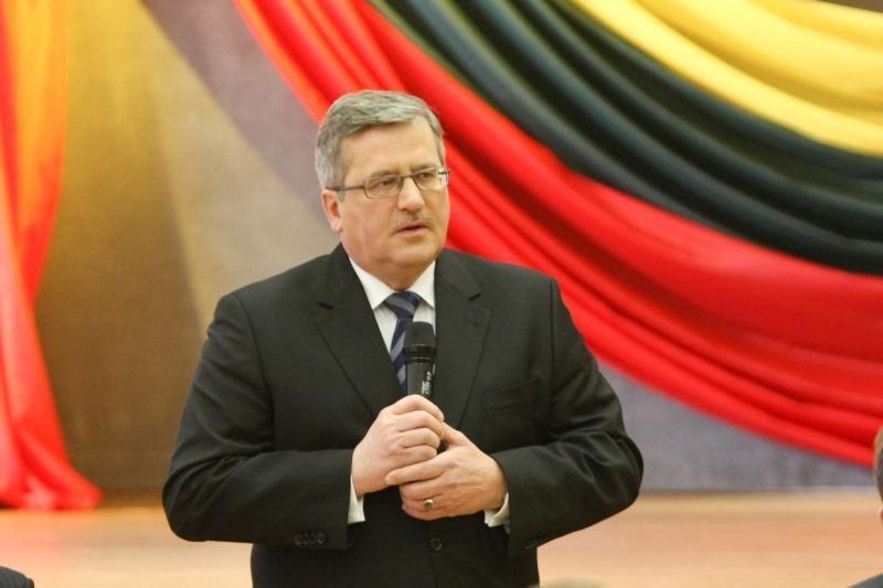 Lietuvos ir Lenkijos ekonominis bendradarbiavimas labai geras