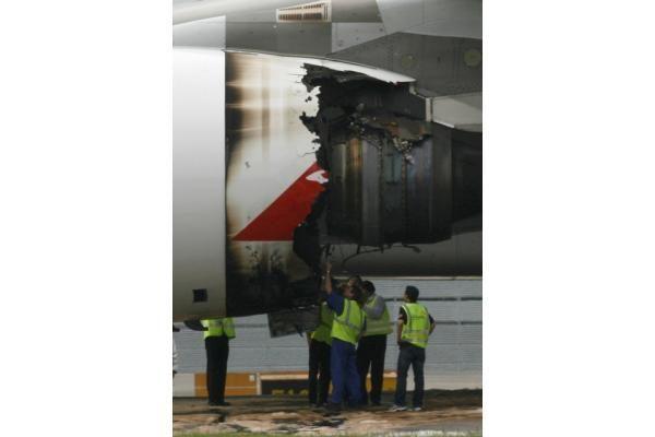 Sprogo didžiausias pasaulyje lėktuvas? (atnaujinta 11:00 val.)