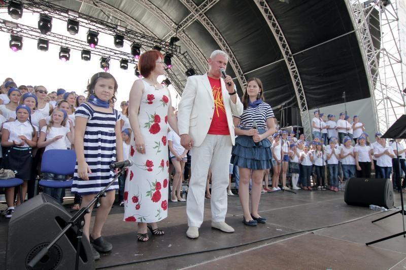 Klaipėdai – 760-ies dainuojančių vaikų sveikinimai