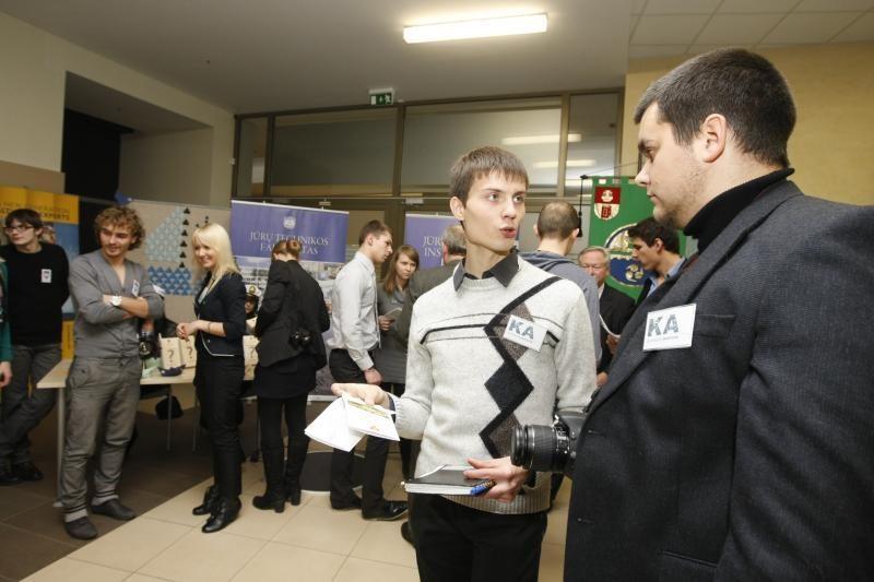 Klaipėdos universitete – atvirų durų diena moksleiviams