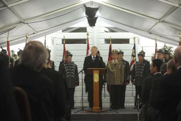 Vengrijoje darbą pradėjo naujasis prezidentas Palas Schmittas