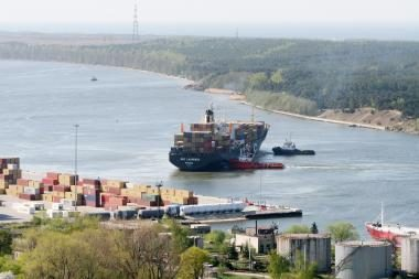 E.Masiulis: Klaipėdos ir Kaliningrado uostai turi dirbti kartu