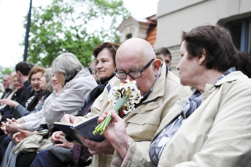 Maironio kūrybą skaitė G.Steponavičius, A.Gelūnas, R.Doveika