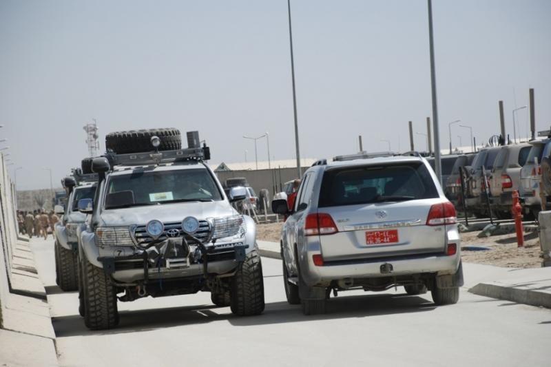 KAM: Afganistane sugedę kariuomenės visureigiai bus pakeisti naujais