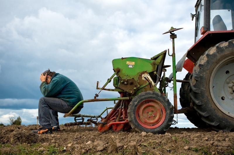 Ukmergės rajone rasti du Prancūzijoje vogti traktoriai