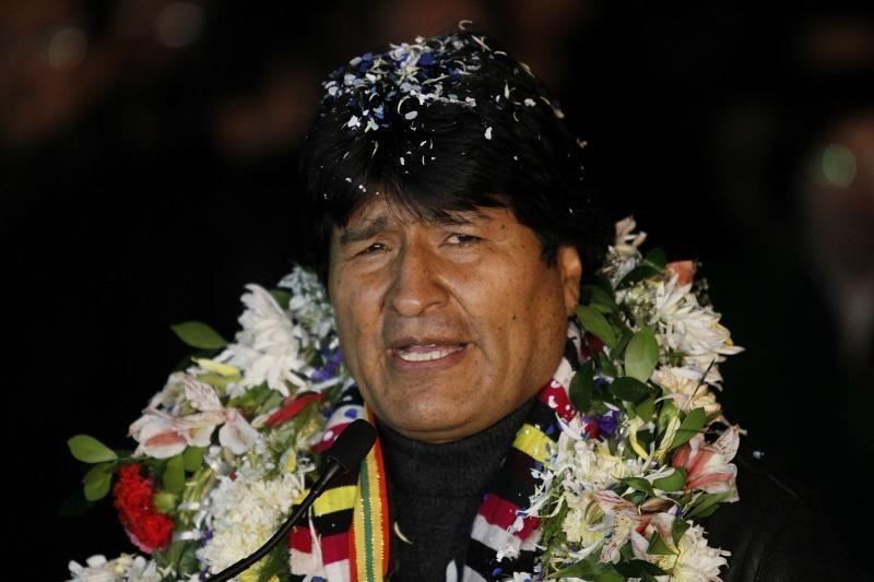 Bolivijos prezidentas sugrįžo į savo šalį