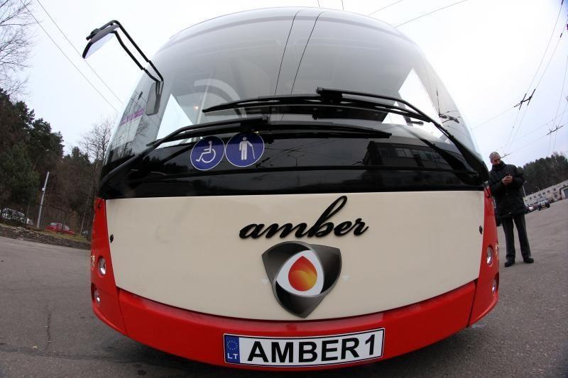 "V.Striška: nauji troleibusai ""Amber"" – negenda"