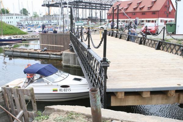 Išbandytas pasukamasis tiltelis