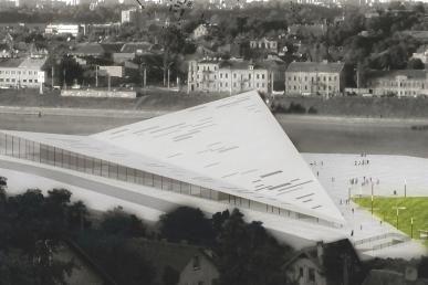 Kongresų rūmams parinko vietą prie Vytauto Didžiojo tilto