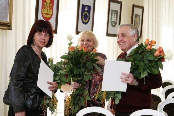 Klaipėdoje apdovanoti medicinos darbuotojai