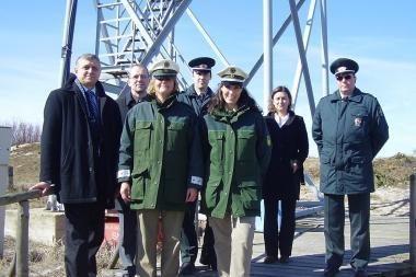 Su Klaipėdos pasieniečiais dirbo Vokietijos pareigūnės