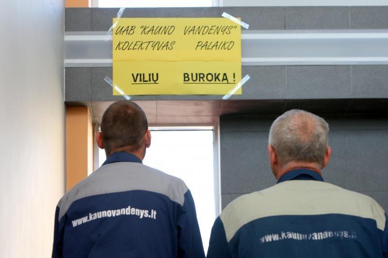 Kauno miesto politikams nepavyko sužinoti savo įmonės darbuotojų algų