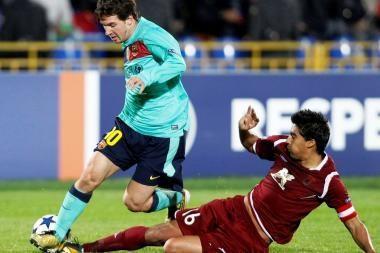 Lietuvių atstovaujami futbolo klubai pergalių neiškovojo